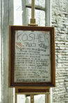 In Rome's old ghetto there are many Jewish restaurants